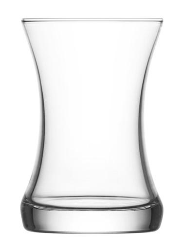 Lav Zen Çay Bardak - Çay Bardağı 6 Lı Renksiz
